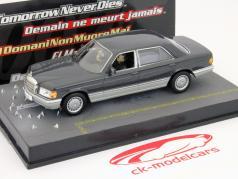 Mercedes Benz S Class Car James Bond movie Tomorrow Never stribt 1:43 Ixo