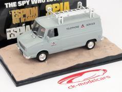 Leyland Sherpa Van James Bond movie The Spy who loved me car 1:43 Ixo