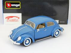 Volkswagen VW Beetle anno 1955 blu 1:18 Bburago