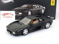 Ferrari 348 ts noir 1:18 HotWheels Elite
