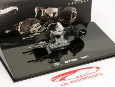 Bat-Pod Bike película Batman The Dark Knight Rises Hotwheels Elite 1:43