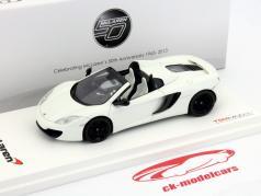 McLaren MP4-12C Spider LHD Ano 2012 branco 1:43 TrueScale