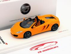 McLaren MP4-12C Spider LHD Baujahr 2012 orange 1:43 TrueScale