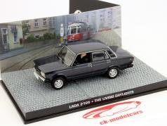 Lada 2105 James Bond Movie Car The Living Daylights 1:43 Ixo