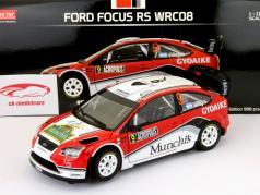 Ford Focus RS WRC08 #9 Rallye Acropolis 2009 Villagra, Diaz 1:18 SunStar