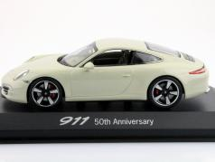 Porsche 911 (991) hvid 50 År Porsche 911 Edition 1:43 Minichamps