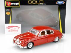 Jaguar Mark II Year 1959 red 1:18 Bburago