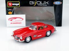 Mercedes-Benz 300SL Year 1954 red 1:24 Bburago