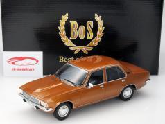Opel Rekord D 2100D Baujahr 1973 dunkelgold 1:18 BoS Models