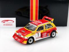 MG Metro 6R4 #7 Champion Rallye de France 1986 Auriol / Occelli 1:18 SunStar