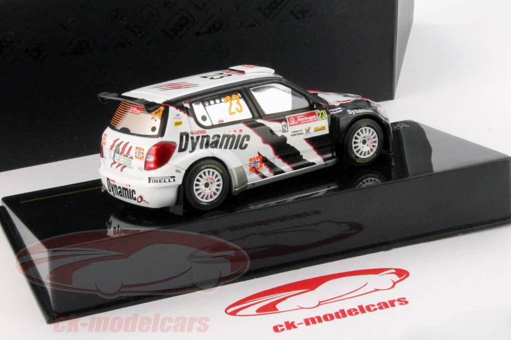Skoda Fabia S2000 #23 3e S-WRC Rassemblement Portugal 2010 1:43
