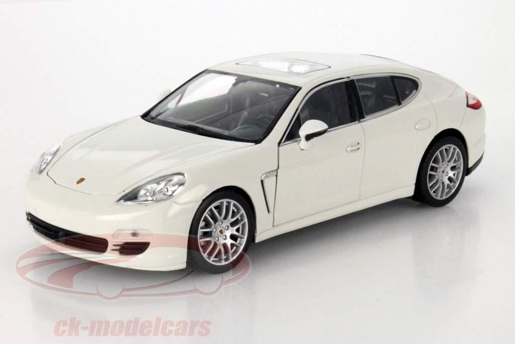 Porsche Panamera S År 2009 hvid 1:24 Welly