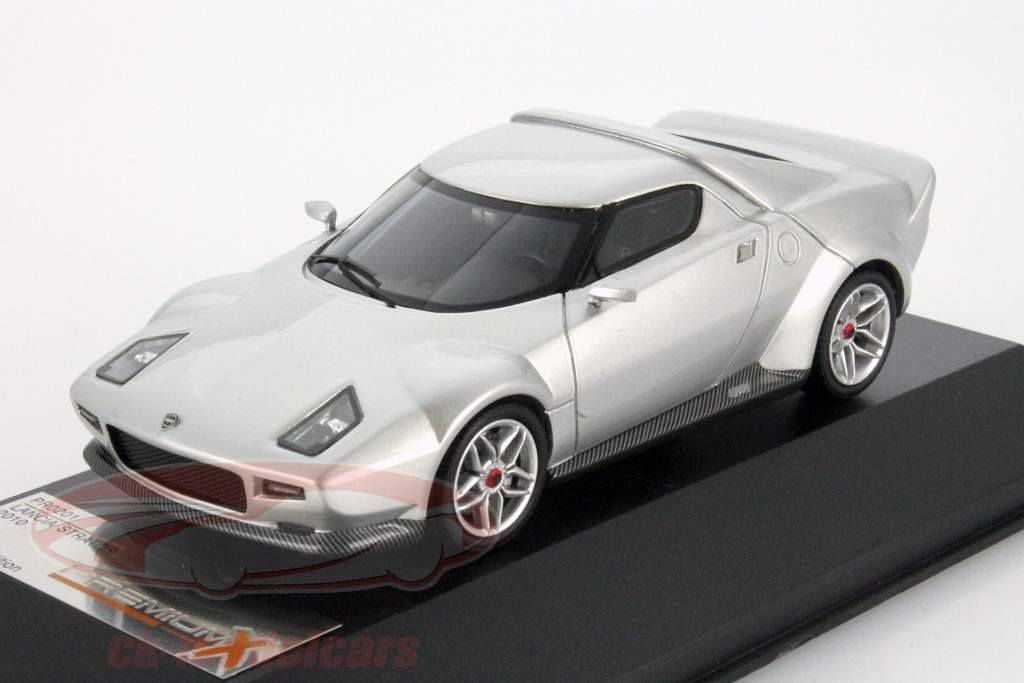 Lancia Stratos Année 2010 argent 1:43 Premium X
