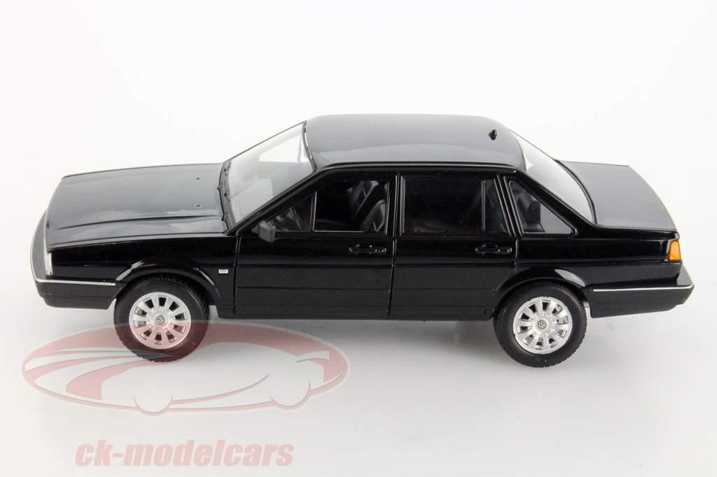 Volkswagen VW Santana sort 1:24 Welly