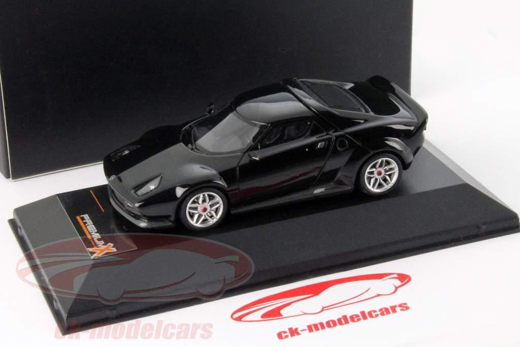 Lancia Stratos Baujahr 2010 schwarz 1:43 Premium X