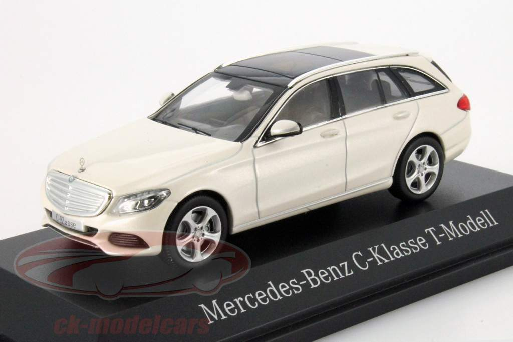 Norev 1 43 Mercedes Benz C Klasse T Model Diamond White Metallic