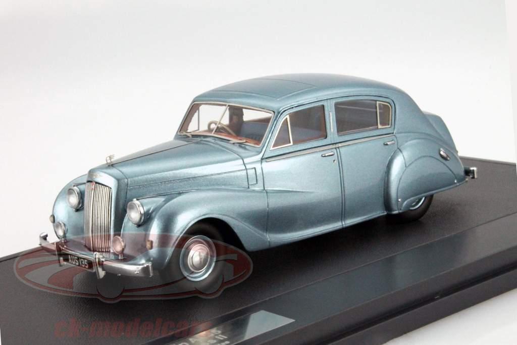 Austin A135 Princess II År 1950 blå metallisk 1:43 Matrix