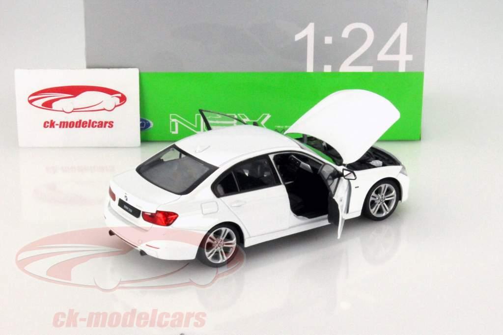 BMW 335i hvid 1:24 Welly