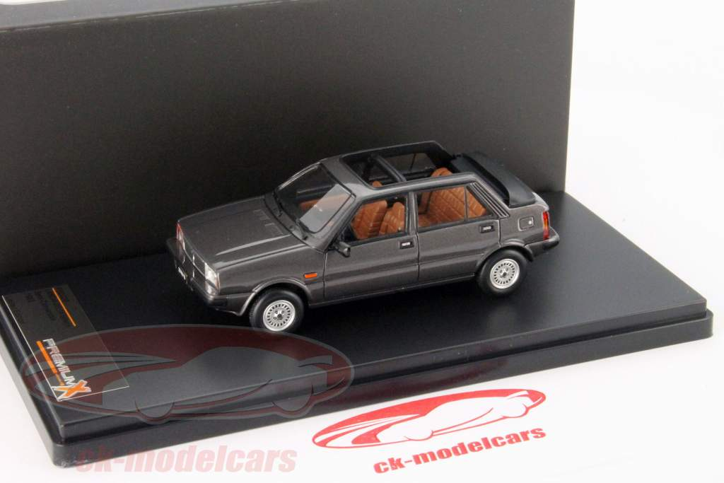 Lancia Delta Selene Semi Convertible anno 1983 grigio scuro 1:43 Premium X