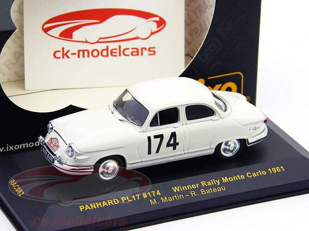 Panhard PL17 #174 Winner Monte Carlo Rally 61 1:43 Ixo