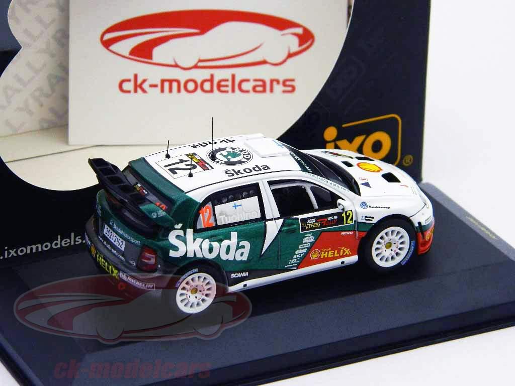 Skoda Fabia WRC n º 12 Rali do Chipre 2005 1:43 Ixo
