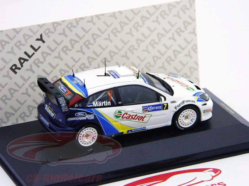Ford Focus RS WRC EV03 N° 7 Rallye du Mexique 2004 1:43 Ixo