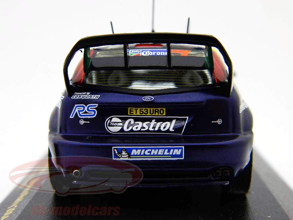 Ford Focus RS WRC #7 EV03 México Rally 2004 1:43 Ixo