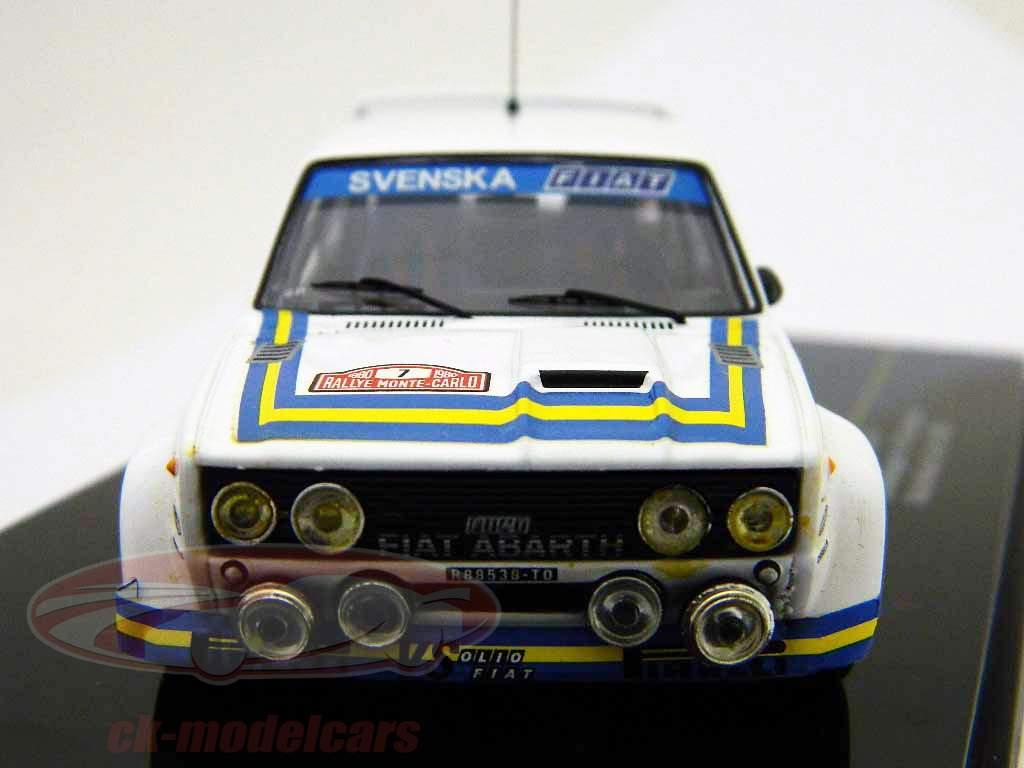 Fiat Abarth 131 #7 Rally di Monte Carlo 1980 1:43 Ixo