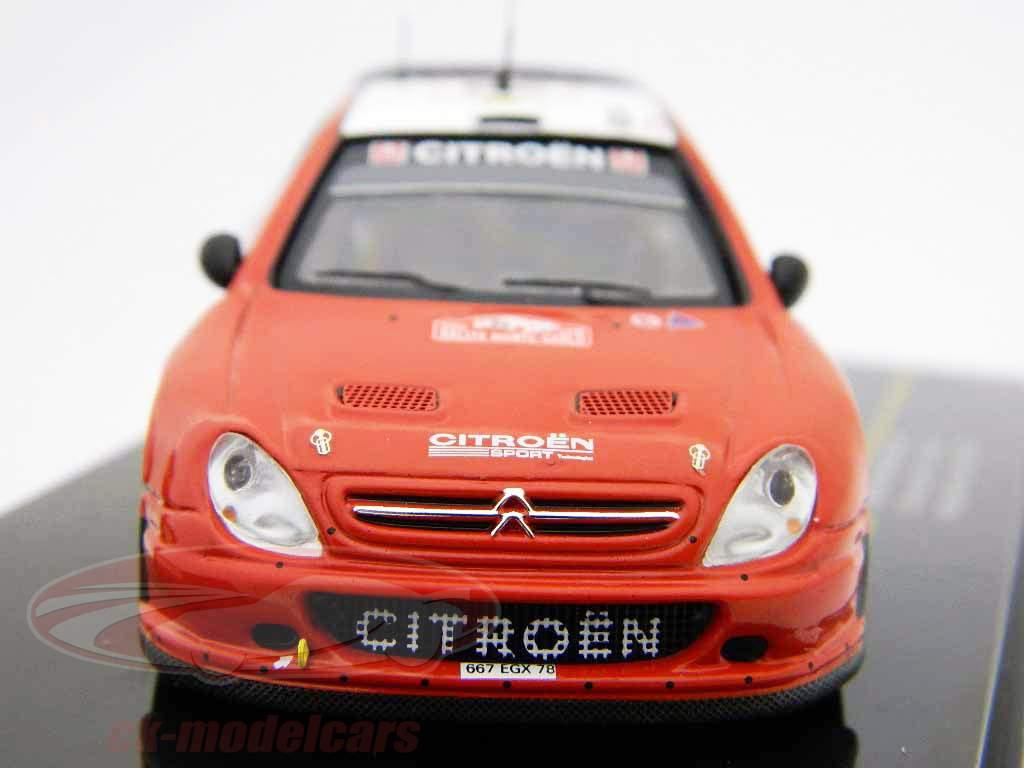Citroen Xsara WRC #20 Rally Monte Carlo 2008 1:43 Ixo
