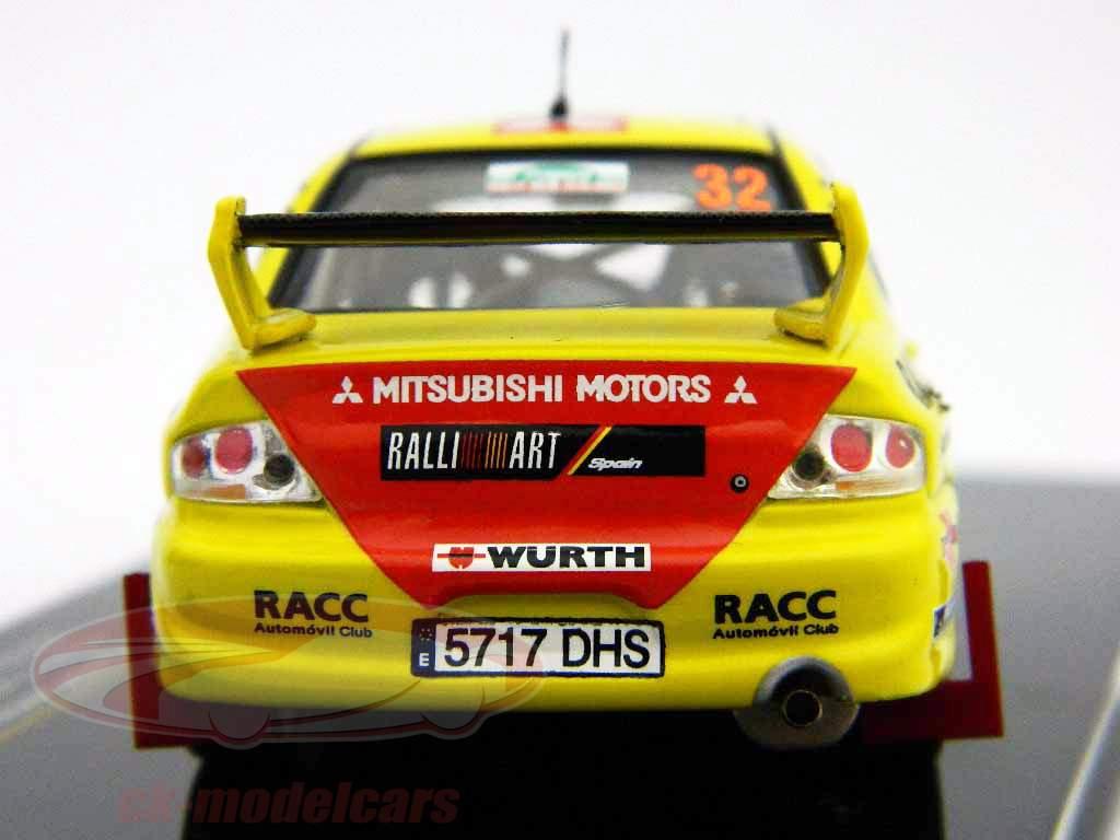 Mitsubishi Lancer EVO VIII º 32 Nueva Zelanda 2005 1:43 Ixo