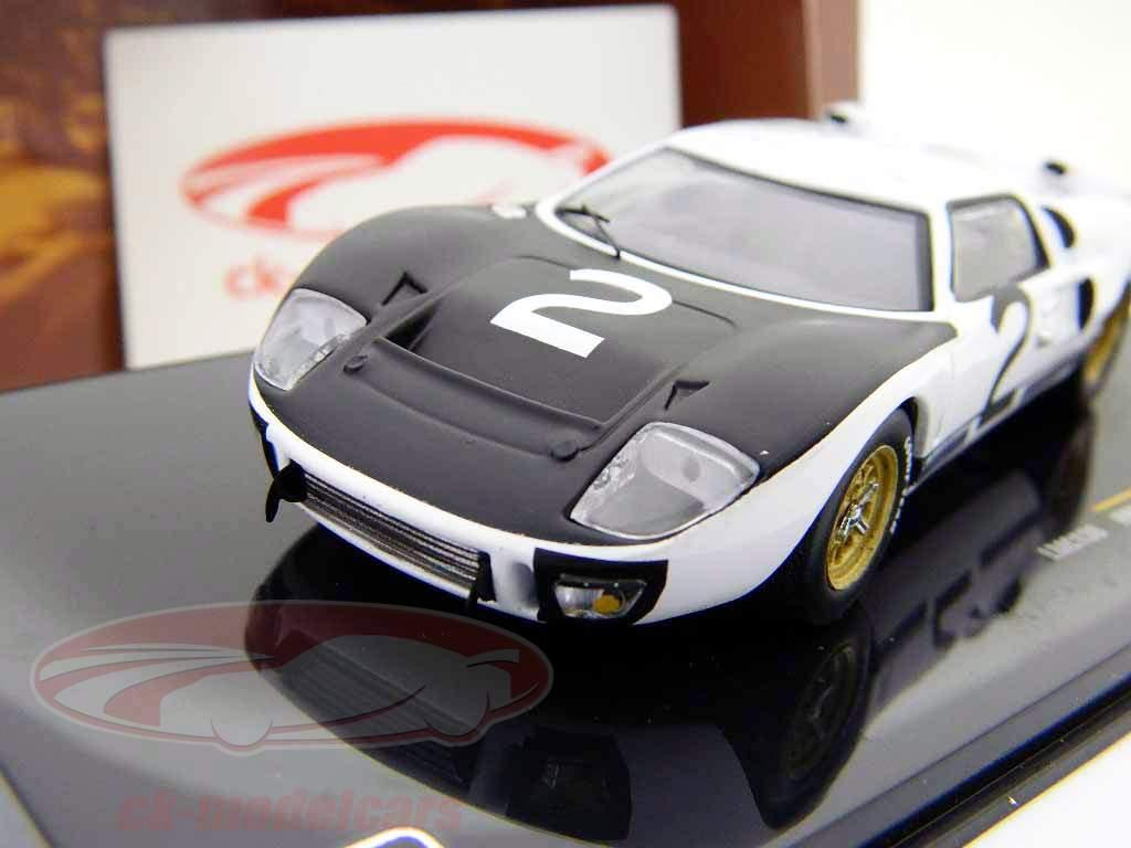 Ford GT40 MK II #2 24h LeMans Test april 1966 1:43 Ixo