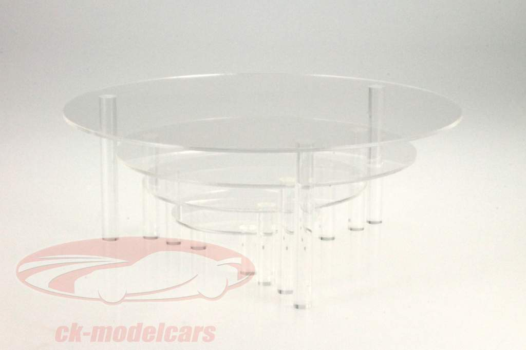 Set di 4 Piastre di presentazione da Vetro acrilico SAFE