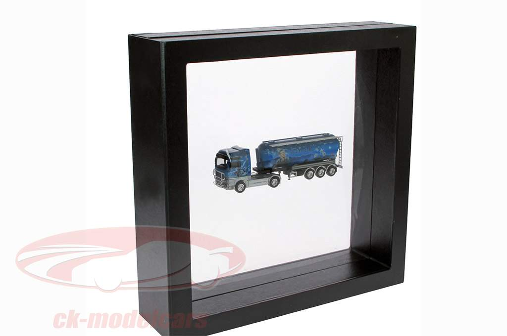 Schweberahmen schwarz 305 x 305 mm SAFE