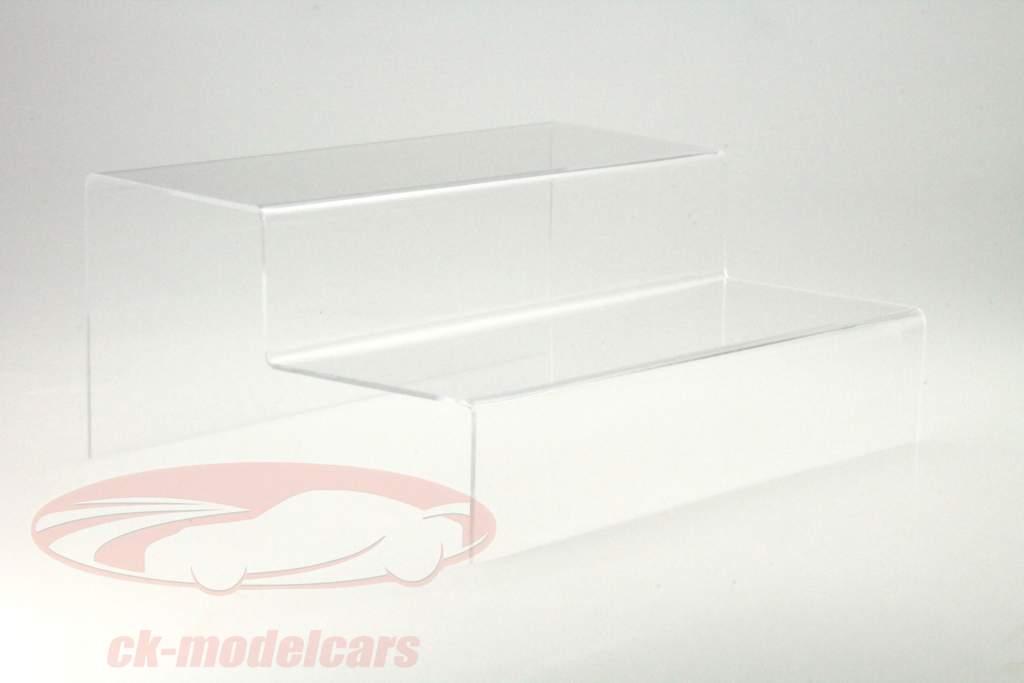 Scale di presentazione 2 Scalinata per Modellini di auto nel Scala 1:43 SAFE