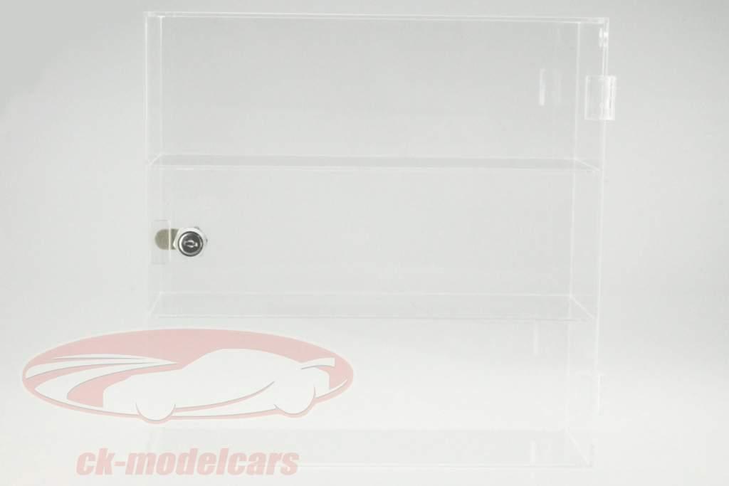 Acyrl Vetrina per Modellini di auto nel Scala 1:43 320 x 320 x 110 mm SAFE