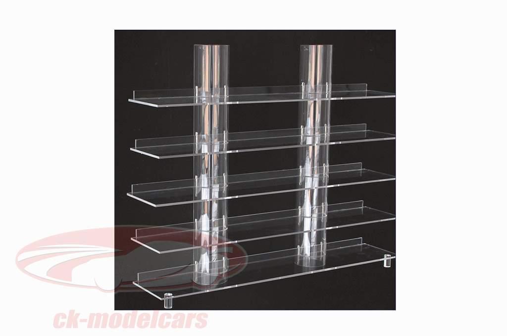 Hængende Board Top Udsigt med transparent Kolonner SAFE