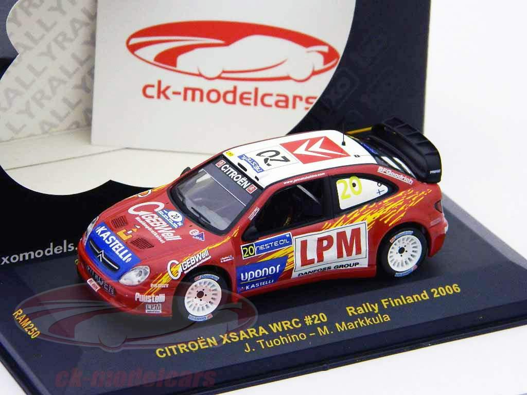 Citroen Xsara WRC #20 Rallye de Finlande 2006 1:43 Ixo