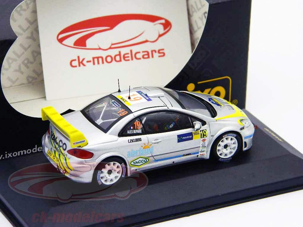Peugeot 307 WRC N° 19 Rally RACC Catalunya 2006 1:43 Ixo