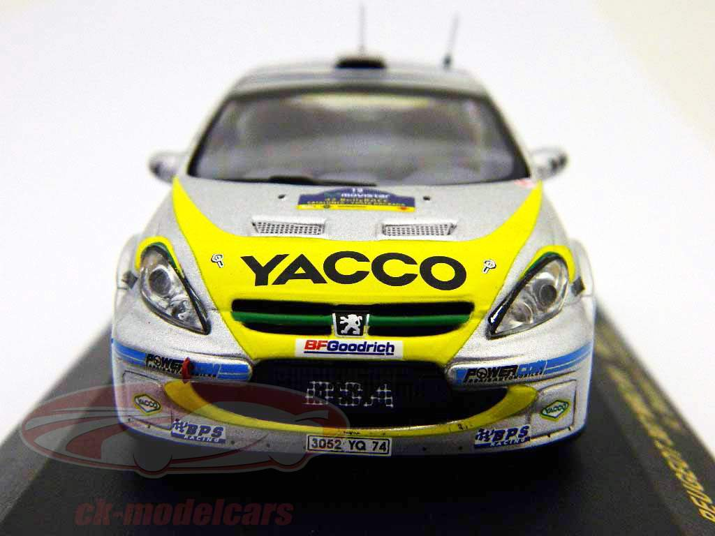 Peugeot 307 WRC Rally RACC Catalunya 2006 #19 1:43 Ixo