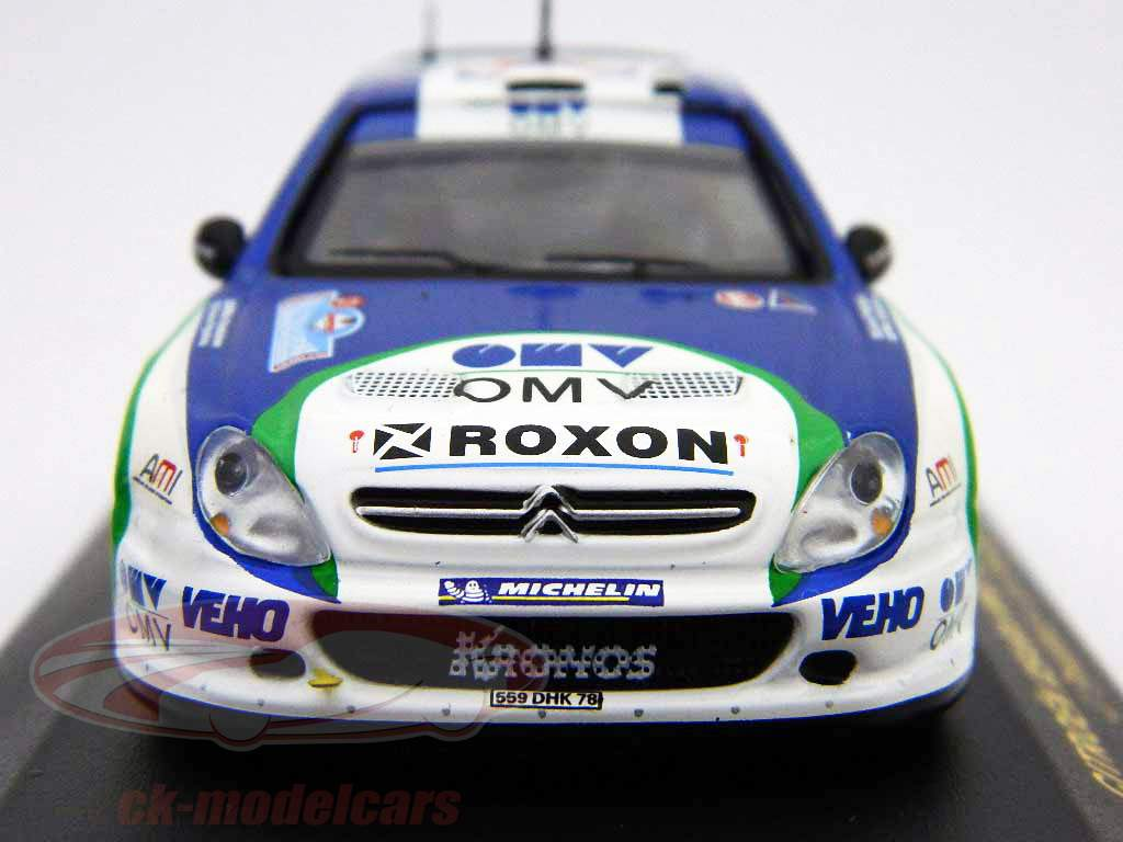 Citroen Xsara WRC 21 ° Rally Italia 2005 1:43 Ixo