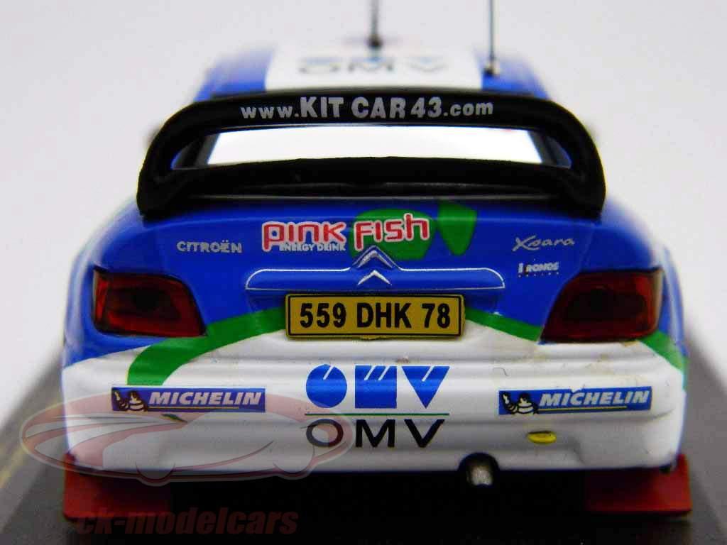 Citroen Xsara WRC #19 Rallye Acropolis 2005 1:43 Ixo