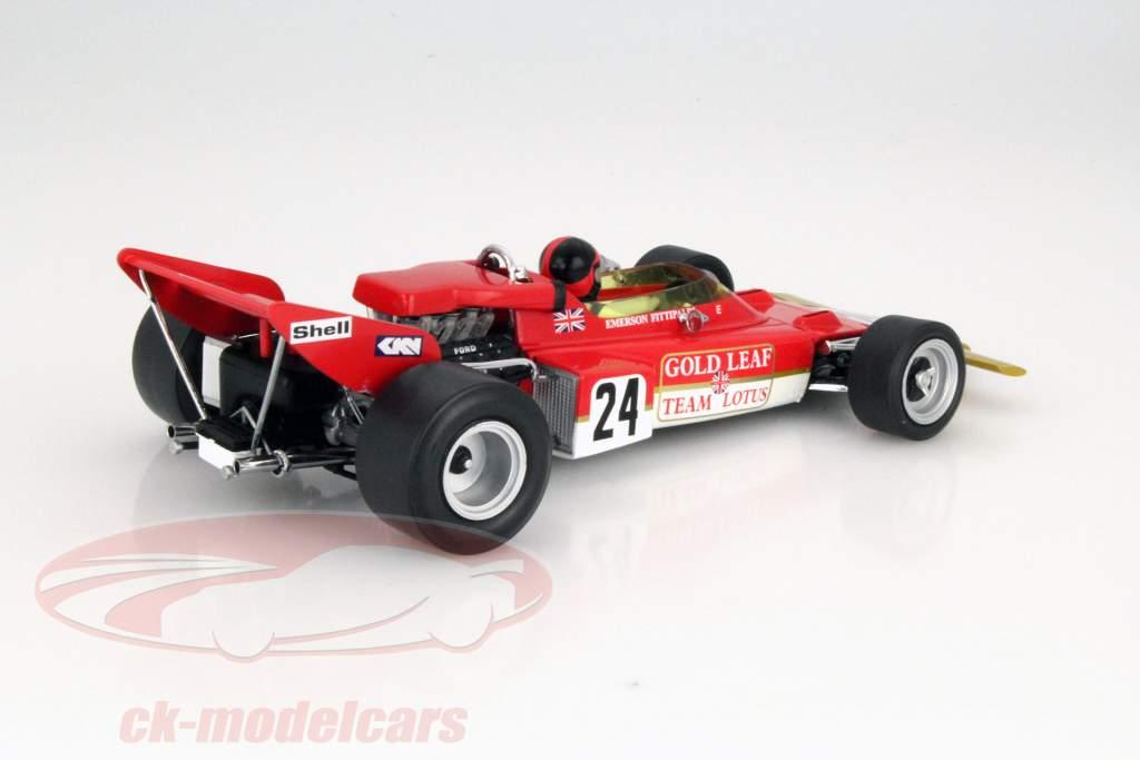 E. Fittipaldi Lotus Typ 72C #24 Winner USA GP Formula 1 1970 1:18 Quartzo