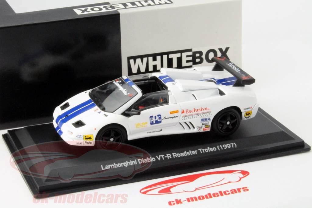 Whitebox 1 43 Lamborghini Diablo Vt R Roadster Trofeo Ano 1997 Azul