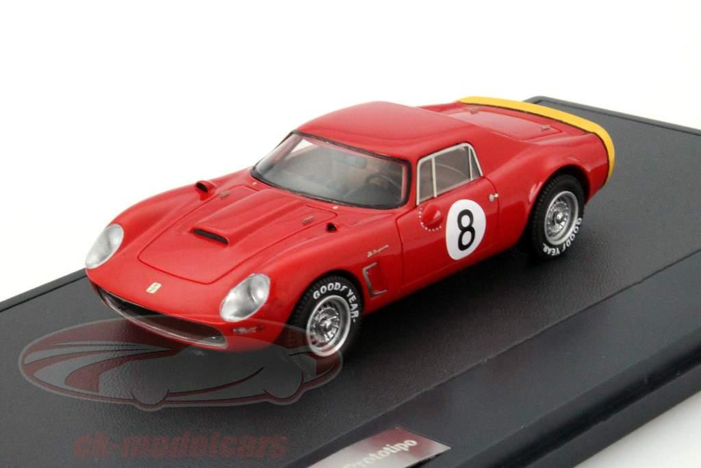 Iso Daytona 6000 GT Prototipo #8 Año 1965 rojo 1:43 Matrix