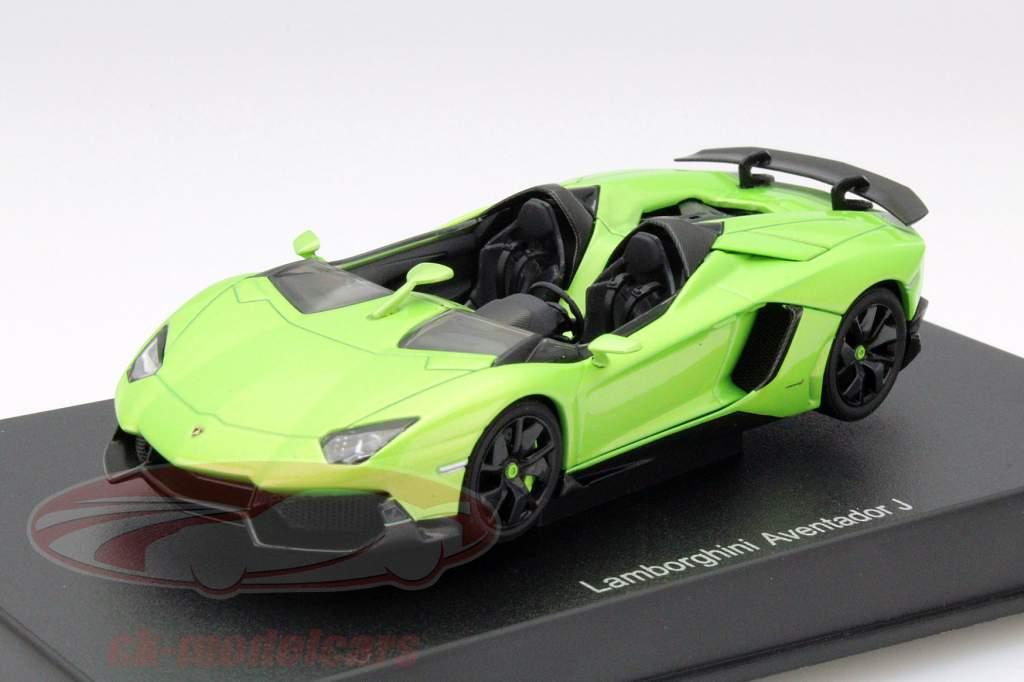 Autoart 1 43 Lamborghini Aventador J Roadster Year 2012 Green