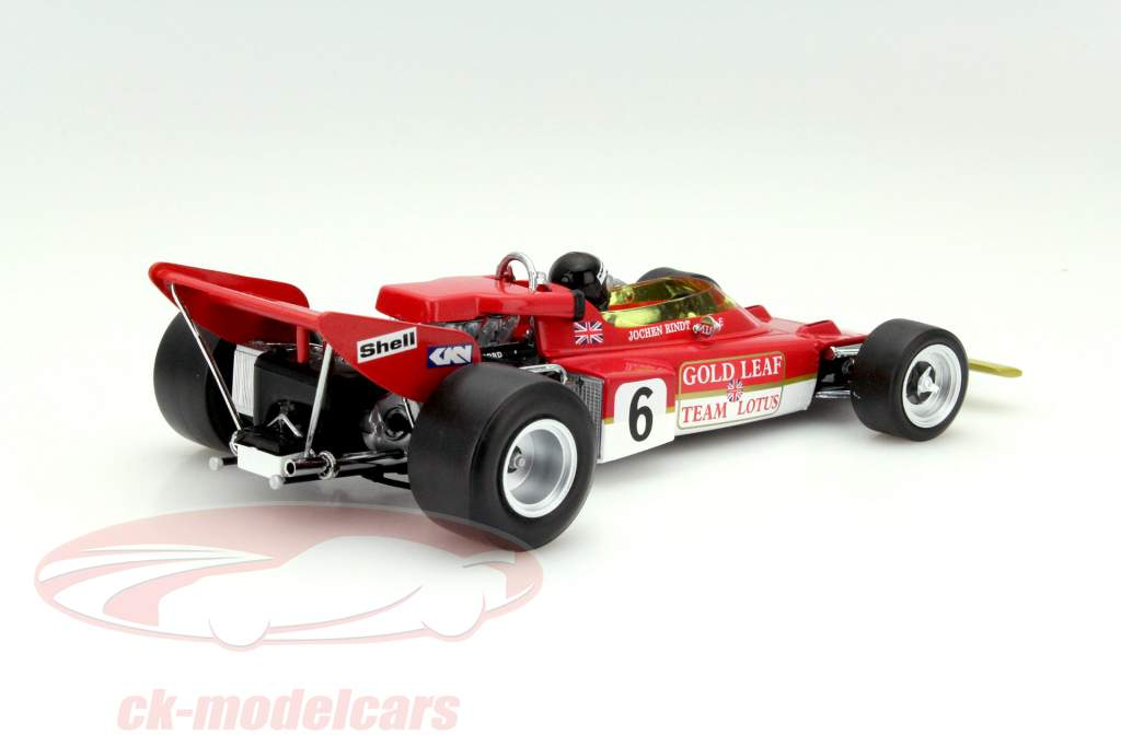 1:43 Altaya f1 Collection Lotus 72c World Champion Rindt 1970