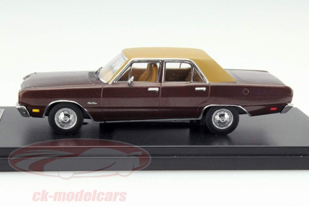 Dodge Dart Gran Sedan Año 1976 marrón 1:43 Premium X
