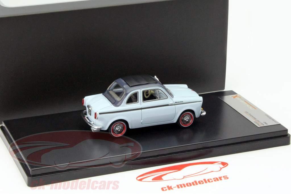 NSU-Fiat Weinsberg 500 År 1960 blå 1:43 Premium X