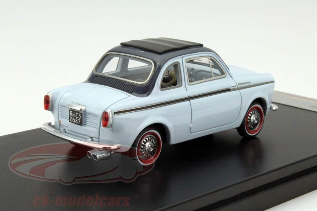 NSU-Fiat Weinsberg 500 Baujahr 1960 blau 1:43 Premium X