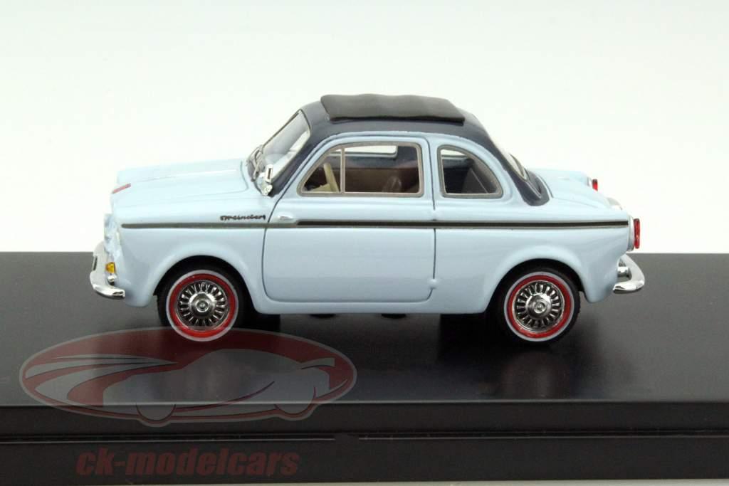 NSU-Fiat Weinsberg 500 Anno 1960 blu 1:43 Premium X